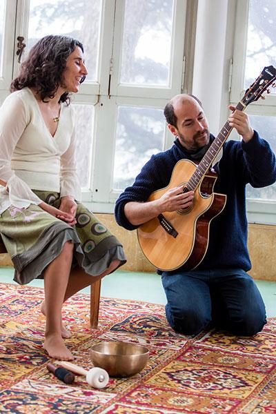 Navina y Jero - Nanas de la Tierra - Foto: Toni Gomez
